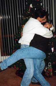 Now THIS is a greeting!  Christmas 1996
