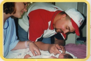 Birth of our 1st daugther, KKB    May 1999